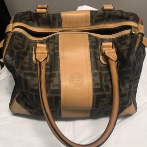 Authentic Fendi purse with wallet check book case